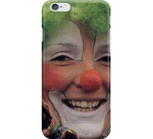 Happy Circus Clown iPhone Case/Skin