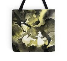 A Heart of a Dragon Tote Bag