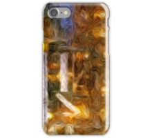 Burning Candle Abstract iPhone Case/Skin