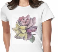 Coming Up Roses Womens Fitted T-Shirt