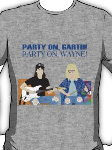 WAYNE'S WORLD - Party On! T-Shirt