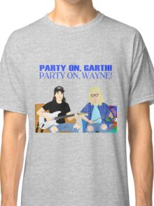 WAYNE'S WORLD - Party On! Classic T-Shirt