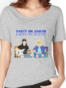 WAYNE'S WORLD - Party On! Women's Relaxed Fit T-Shirt