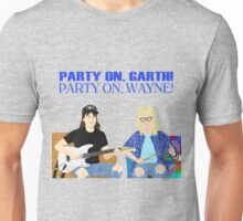 WAYNE'S WORLD - Party On! Unisex T-Shirt