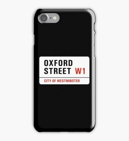 Oxford Street, London Street Sign, UK iPhone Case/Skin