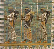 Assyrian military parade, Pergamon Museum, Berlin by docnaus