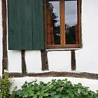 French cottage window by Juliangreenwood