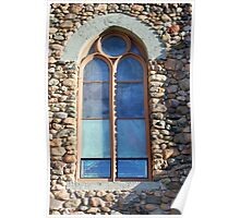 St. Augustine Window Poster
