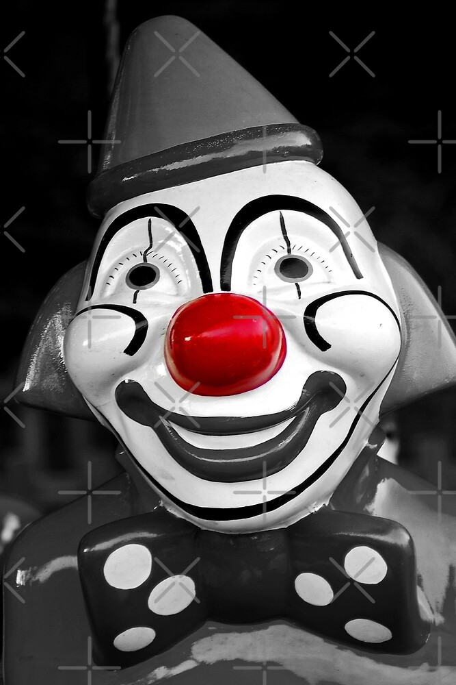 Red Nose Clown by Yampimon