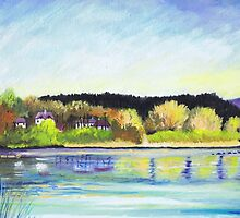 River Dee at Aboyne by ALICE STUART