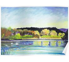 River Dee at Aboyne Poster