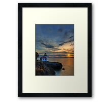 San Juan Sunset Framed Print