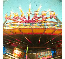 Spinning Cars Photographic Print