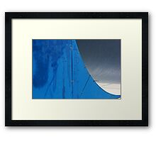 Half Pipe Abstract 1 Framed Print