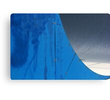 Half Pipe Abstract 1 Canvas Print