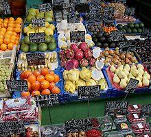 A scene from an Austrian market by docnaus