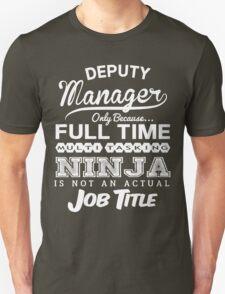 Ninja Deputy Manager T-Shirt