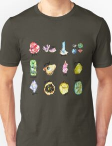Watercolor Birthstones With Calligraphy T-Shirt