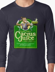 Master Sokka's Cactus Juice Long Sleeve T-Shirt