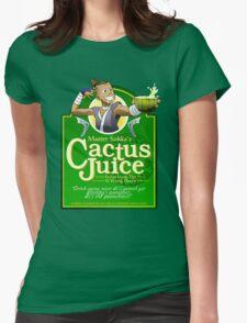 Master Sokka's Cactus Juice Womens Fitted T-Shirt