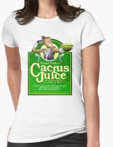 Master Sokka's Cactus Juice Womens Fitted T-Shirt