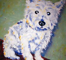 'McDoogle' West Highland Terrier by Kelly Telfer