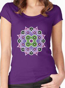 Mandala of Abundance Women's Fitted Scoop T-Shirt