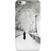 Figures in the Snow  iPhone Case/Skin
