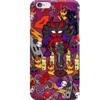 Black Kiss iPhone Case/Skin
