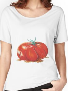 Squashed Tomato Women's Relaxed Fit T-Shirt