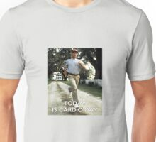 Today is cardio day Forrest Gump runs Unisex T-Shirt
