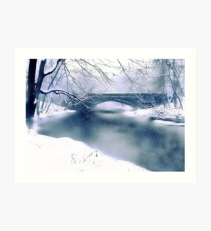 Winter Haiku Art Print