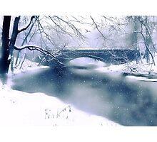 Winter Haiku Photographic Print
