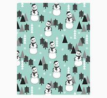 Snowman - Mint by Andrea Lauren  Classic T-Shirt