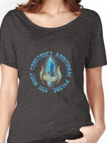 You must construct additional pylons Women's Relaxed Fit T-Shirt
