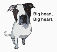 Big head, big heart  by M Keays
