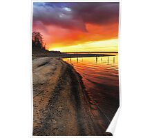 Fabulous Sunset Colors Poster