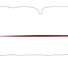 ST Registry Series - Enterprise Alternate White Logo Sticker