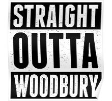 Straight Outta Woodbury Poster