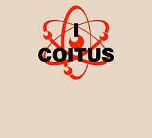 I Atom Coitus Womens Fitted T-Shirt