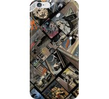 Vintage comics iPhone Case/Skin