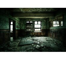Decaying Room Photographic Print