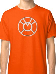 Orange Lantern Insignia (White) Classic T-Shirt