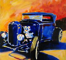 '32 Ford Flathead' Street Rod by Kelly Telfer