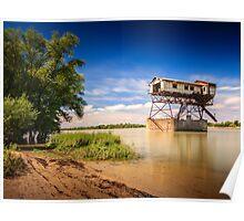 Coal Loader on the Danube Poster