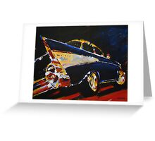 '1957 Chevy Bel Air' Classic Chevrolet Greeting Card