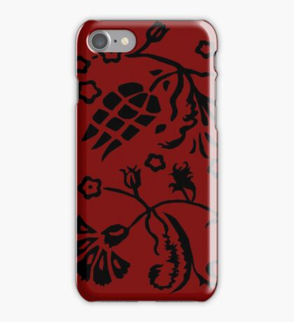 Captain Hook's Red Vest iPhone Case/Skin