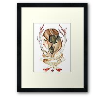 Bats and Bodies Framed Print