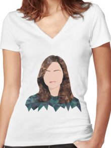 Clara Oswald Women's Fitted V-Neck T-Shirt