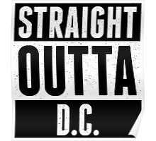 Straight Outta DC Comic Poster